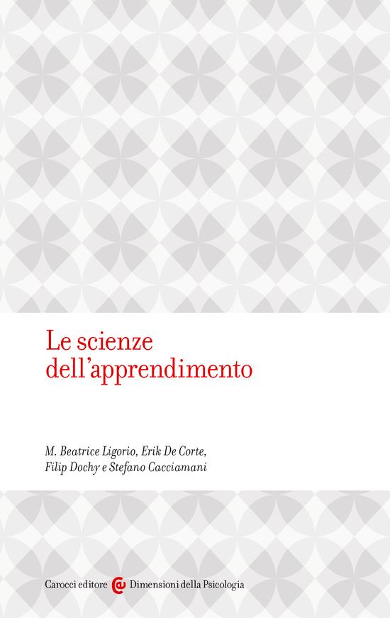 Copertina del libro Le scienze dell'apprendimento