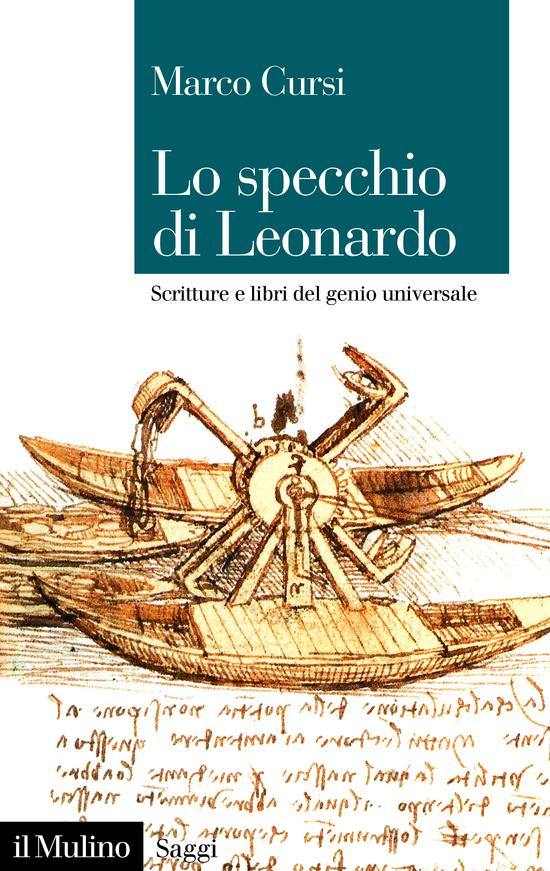 Copertina del libro Lo specchio di Leonardo
